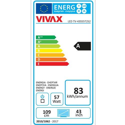 VIVAX 43S55T2S2 LED TV