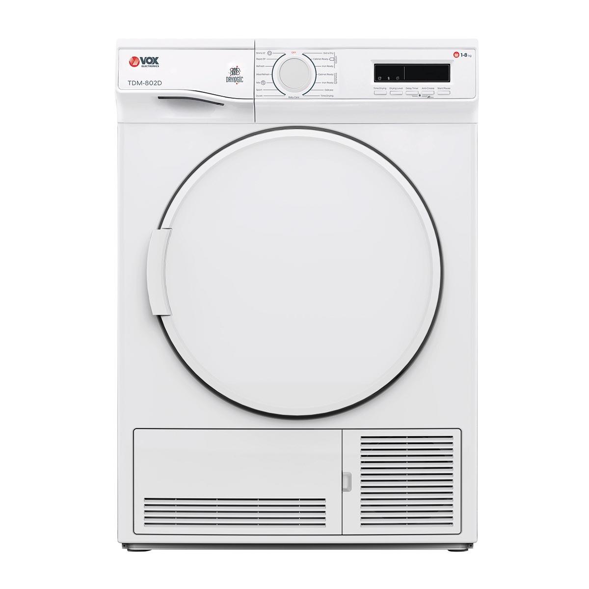 VOX Mašina za sušenje veša TDM802D