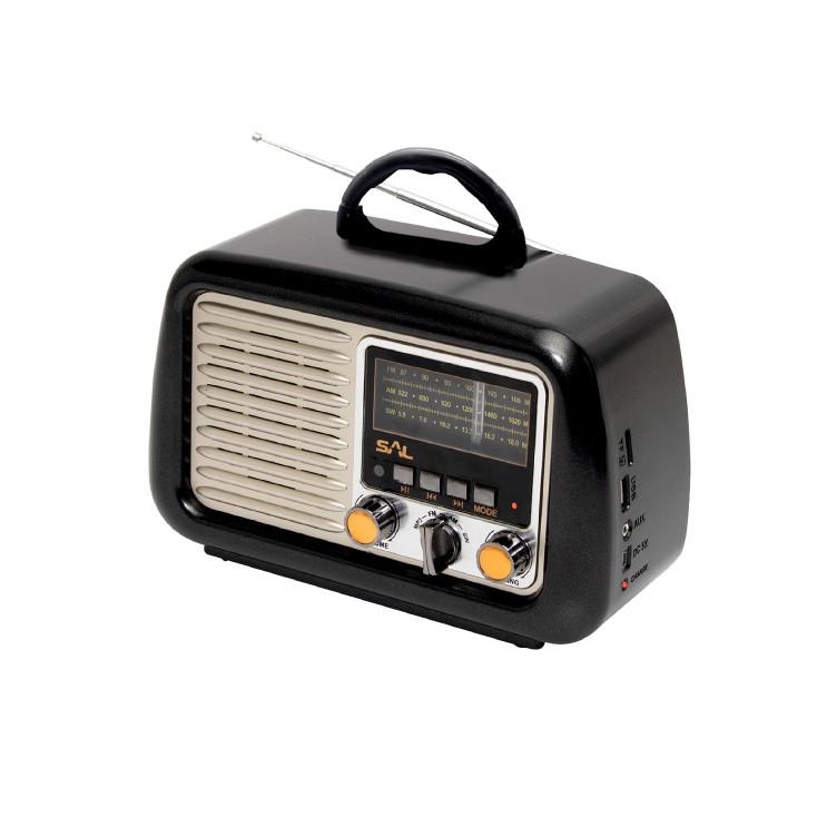 SAL RRT2B RETRO RADIO 4IN1