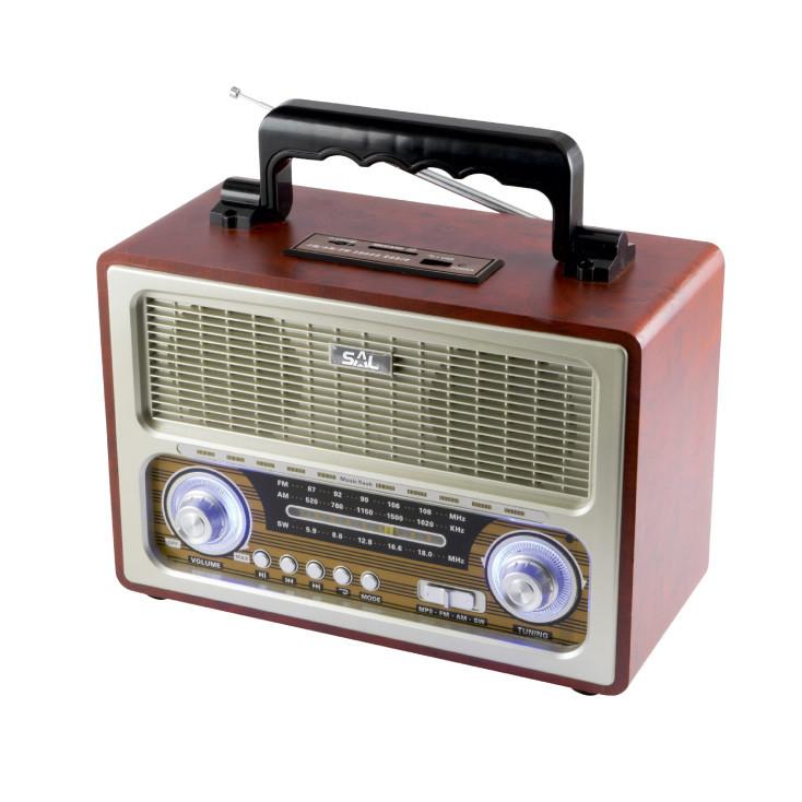 SAL RRT3B RETRO RADIO 4IN1